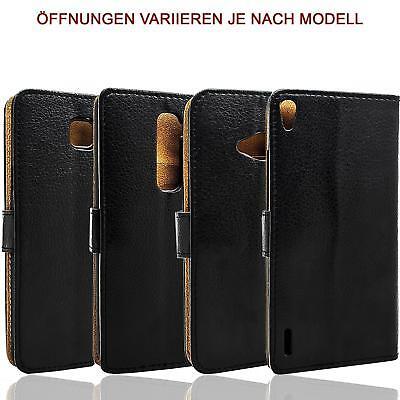 Handy Tasche für Samsung Galaxy Flip Cover Mobile Case Schutz Hülle Etui Wallet 4
