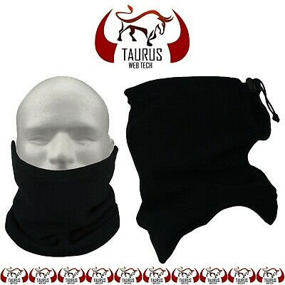 Thermal Fleece Neck Warmer Mask Winter Snood Scarf Tube Cycling Motorbike Ski UK