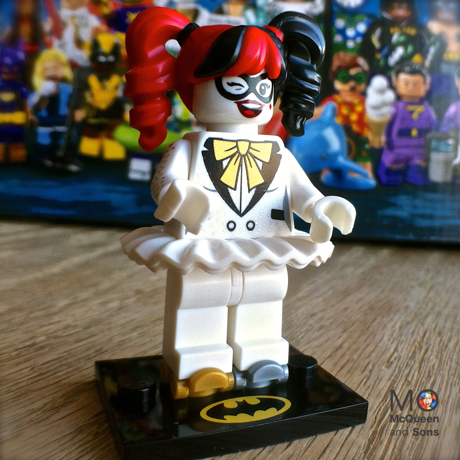 Disco Harley Quinn Factory Sealed New Lego Batman Movie series 2 71020