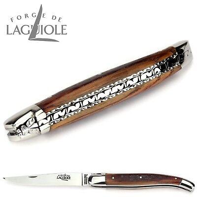 Forge de Laguiole Taschenmesser 12 cm - Barriquefass - Doppelplatine - Messer 4