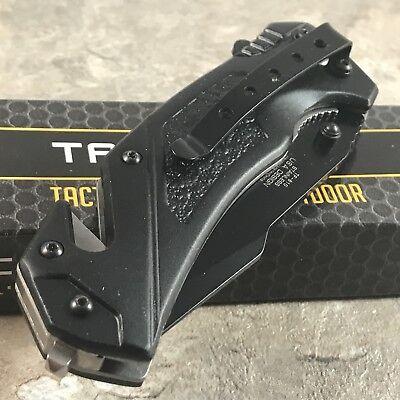 "Tac Force Spring Assisted Tactical Tanto Blade Folding Rescue Pocket Knife 8.25"" 12"