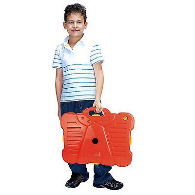 Free Standing Basketball Set Hoop Net Backboard Carry Case 161cm Childrens Kid 3
