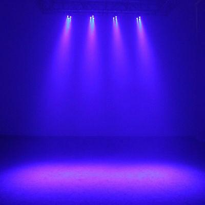 Complete Professional 4-Par Stage LED Lights DJ Band DMX System & Stand MU-L31A 10