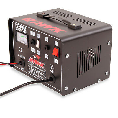 Hawk 230V 12V 24V 9A Car Van 4X4 Battery Fast Charge Power Booster Charger 5
