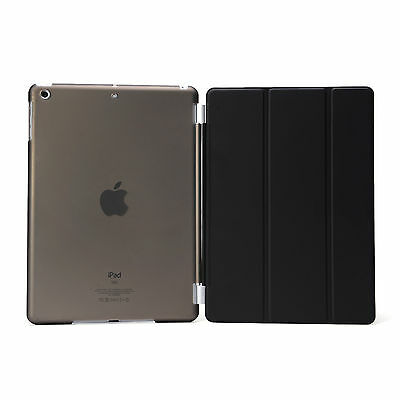 Smart Cover and Hard Back Case for Apple iPad 6th Gen iPad 5 4 3 2 mini Air 9