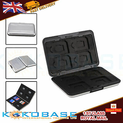 Memory Card Storage Box Case Holder with 8 Slots for SD SDHC MMC Micro SD Cards 3