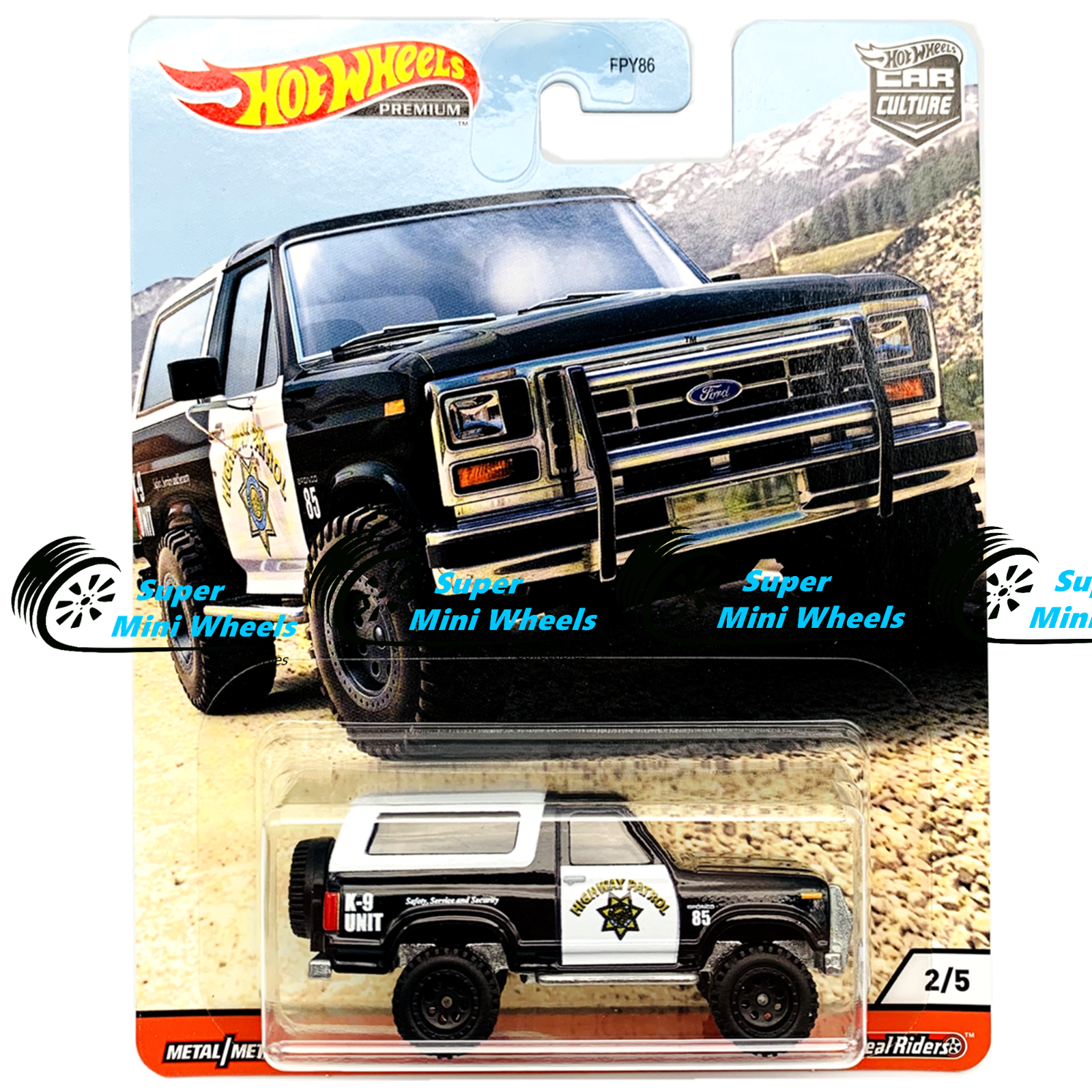 Hot Wheels Premium 2020 Car Culture Q Case All Terrain Wild Terrain - 5 Cars Set 3