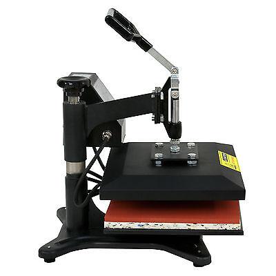 "New 12"" X 10"" CLAMSHELL HEAT PRESS T-SHIRT Digital TRANSFER SUBLIMATION MACHINE 4"