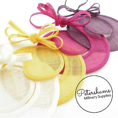 Sinamay Swirl - Make an Instant Fascinator for Hat Making and Millinery! 3