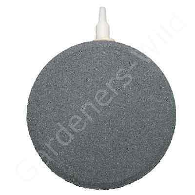 "AIR STONE 4"" 10cm (x12) HAILEA large round ceramic airstone hydroponic pond koi 3"
