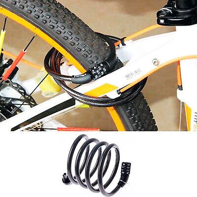 Candado Para Bicicleta Cadena De Seguridad Combinacion Antirrobo 1.2 Metro X 8Mm 6