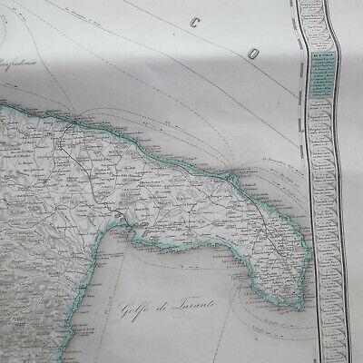 Mappa Nautica Puglia.Mappa Nautica Antica Calabria Puglia Marina Navigazione Nave Adriatico Lloyd Eur 80 00 Picclick Fr