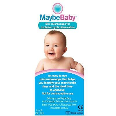 Fertility Saliva Test Mini-Microscope 10 Ovulation Tests 10 Pregnancy Strips 4