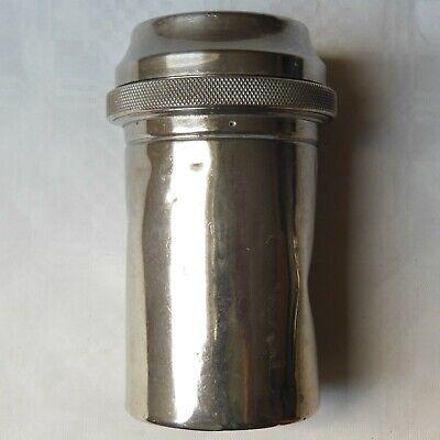DREI-PFEIL MARKE - MAXIMUS antike Box für Spritzen und Nadeln Sterilisator WW2 12