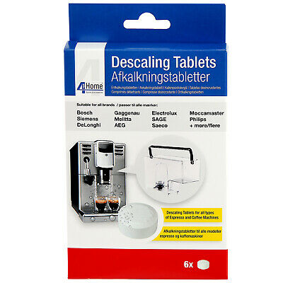 6 x Cleaning Descaling Tablets for AEG Electrolux Zanussi Coffee Machine Makers 4