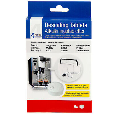 6 x Cleaning Descaling Tablets for Philips Saeco Coffee Machine Makers 4