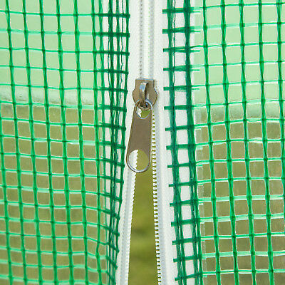 4 Size Walk-in Greenhouse Polly Tunnel Patio Garden Outdoor Polytunnel Frame 5