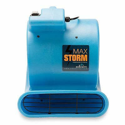 Soleaire® Max Storm 1/2 HP Air Mover Carpet Dryer Blower Floor Fan Janitorial