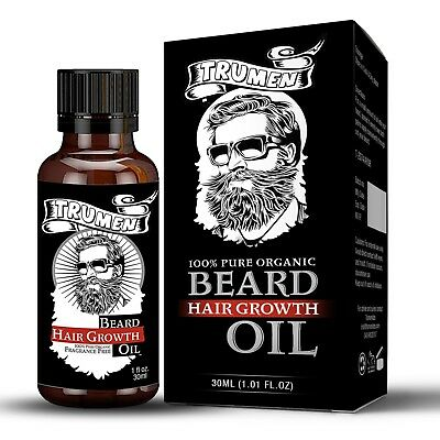 #1 Beard Growth Oil From TruMen for Thicker, Softer and Healthy Hair. 5