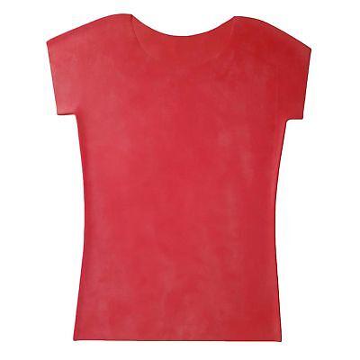 Latex Shirt aus Gummi in rot, neu original verpackt, Einheitsgröße