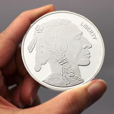 Buffalo 5 oz .999 Silver Medallion by SilverTowne
