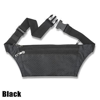 Waterproof Running Hiking Sport Bum Bag Travel Money Phone Waist Belt Zip Pouch 6
