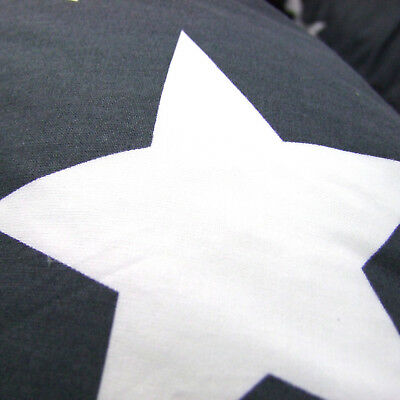 XXL Bezug für Stillkissen Baby Lagerungskissen Lang Seitenschläferkissen STARS 2