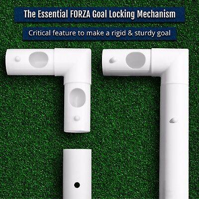 FORZA Football Goals - Locking, Match, Steel & Aluminium Goal [Net World Sports] 10