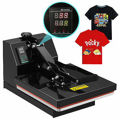 "15"" x 15"" Digital Clamshell Heat Press Machine Transfer Sublimation T-shirt 2"