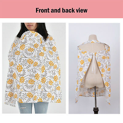 100% Breathable Cotton 3 in 1 Baby Breastfeeding Nursing Cover Generous Blanket 9