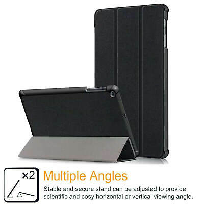 """Samsung Galaxy Tab A 2019 10.1"""" Full Body Flip Cover Trifold Case for T510/T515 6"""