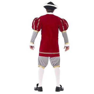 Da Uomo Adulto Lusso Re Enrico VIII 8° Storico Tudor Costume 5