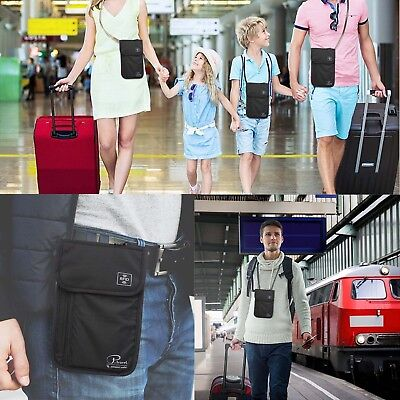 Travel Wallet & Family Passport Holder w/RFID Blocking- Document Organizer Case 12