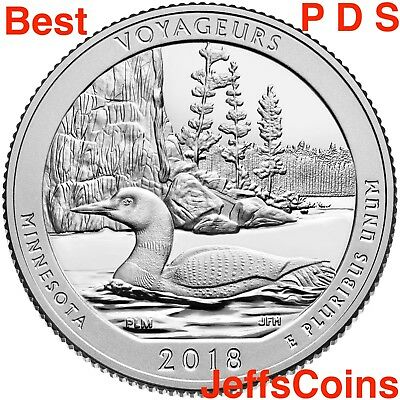 2019 P D S American Memorial Park Northern Mariana Quarter PDS Mint ATB Best 3 + 5