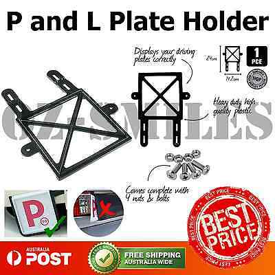 Plate Holder Red & Green p 1pc Strong Yellow L Fit Most Vehicles 2