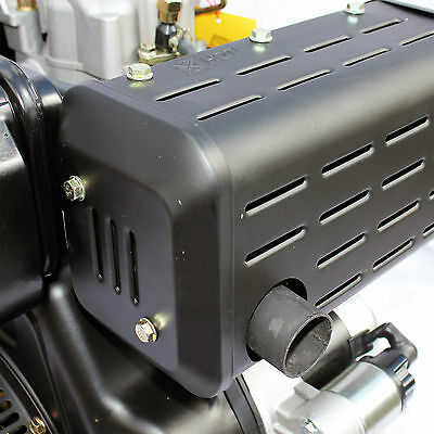 186FA 10HP ELECTRIC Start Diesel Engine Replaces Yanmar L100 L100Ae 1
