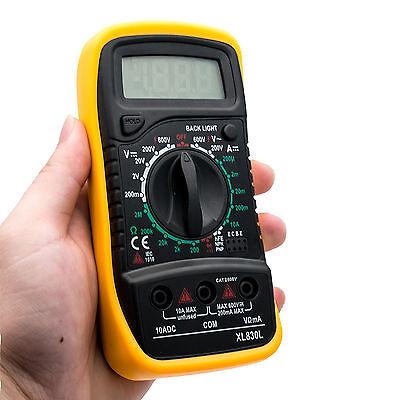 Tester Multimeter Xl830L Multimetro Digitale Pro Tester Professionale Con Cavi 3