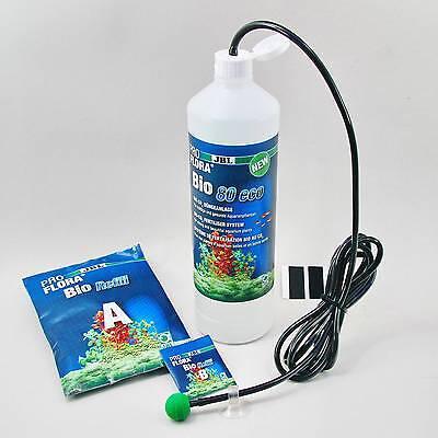 JBL ProFlora bio80 eco 2 Preisgünstiges Bio-CO₂ Starter-Set 30-80 Liter