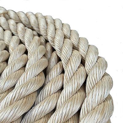 Rope - 16 mm Synthetic Sisal,Sisal,Sisal For Decking,Garden & Boating, x 110mts 2