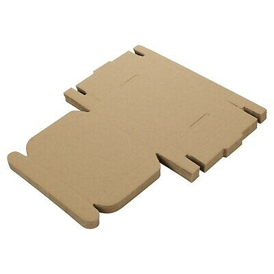 Small Royal Mail Large Letter Cardboard Postal Pizza Style Mailing Folding Boxes 3