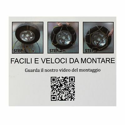 Catene Da Neve 9Mm 225/45 R19 Renault Kadjar [01/2015->] 6