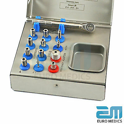 Bone Compression Kit Sinus Lift Bone Prosthodontic MIS Implants Surgical NEW CE 5