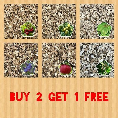 <<<Buy 2 Get 1 Free>>> Bbq Smoking Wood Chips Food Smoker Wood  Best Quality 2