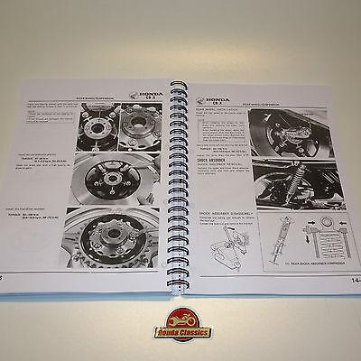 honda cbx 1000 factory workshop shop manual book reproduction rh picclick co uk honda cb 1000 service manual honda cbx 1000 service manual pdf