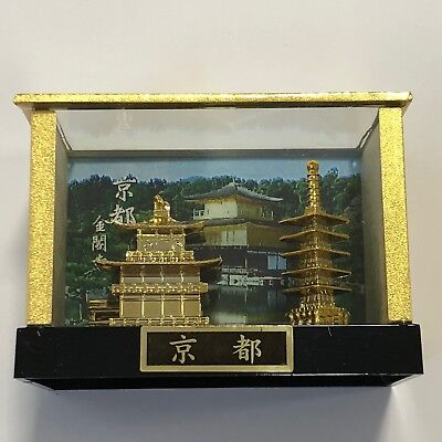F//S Kyoto Kinkakuji Temple Golden Pavilion Five Layered Tower in Case from Kyoto