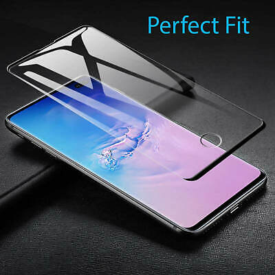 For Samsung Galaxy Curved 3D Tempered Glass Full Screen Protector S10 Plus S10e 9