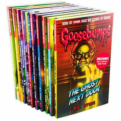 Goosebumps Classic Series 10 Books Children Collection Paperback By R L Stine 2