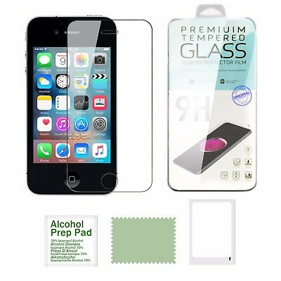 Vitre Film de protection d'écran en verre Trempé iPhone 8/7/6/6S/Plus/SE/5S/5C/X