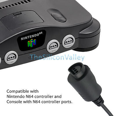 N64 Controller Gamepad Joystick for Nintendo 64 Video Game Console Jungle Green 10