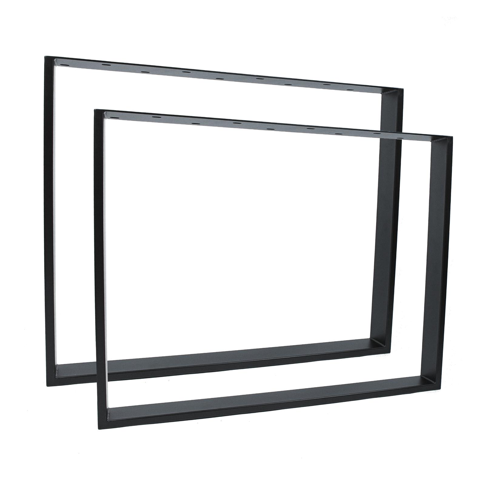 Design Tischkufen Tischgestell Tischbeine Tischkufe Tischuntergestell schwarz